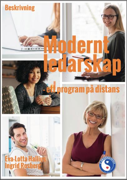 Beskrivning distansutbildningen Modernt ledarskap
