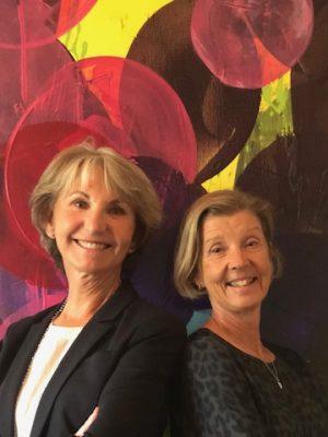 Ingrid Rosberg och Eva-Lotta Hallius håller distansutbildningen Modernt ledarskap på e-Universitetet.